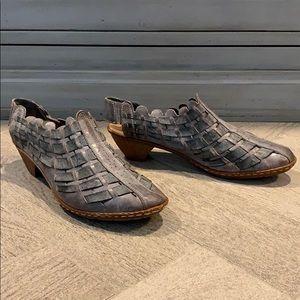 Rieker slingback heels